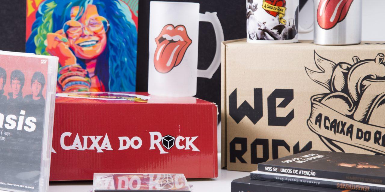 Clube de Assinatura A Caixa do Rock